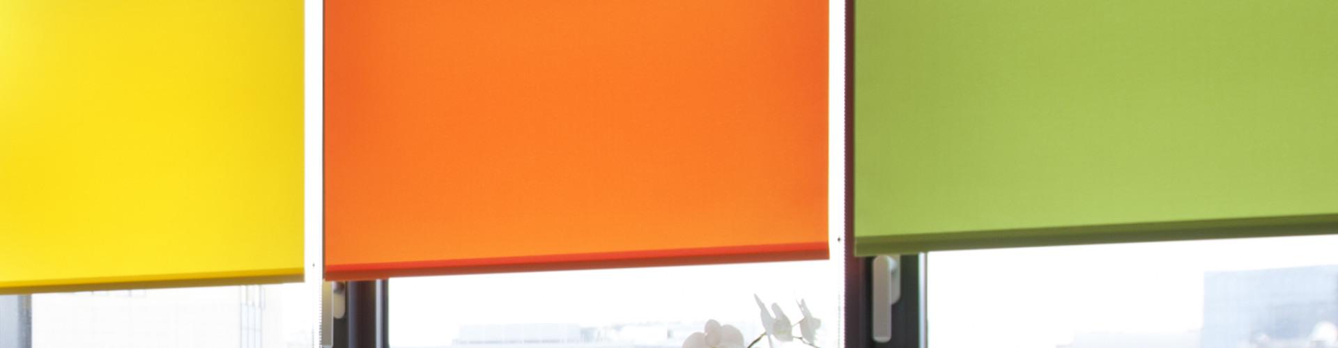 разноцветные рулонные жалюзи белгород
